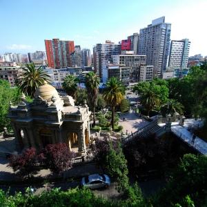 Santiago, moderna e organizada.