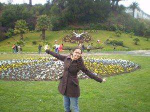 A Clarinha no Chile