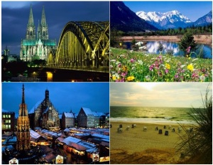 Diferentes paisagens na Alemanha: tem de tudo!