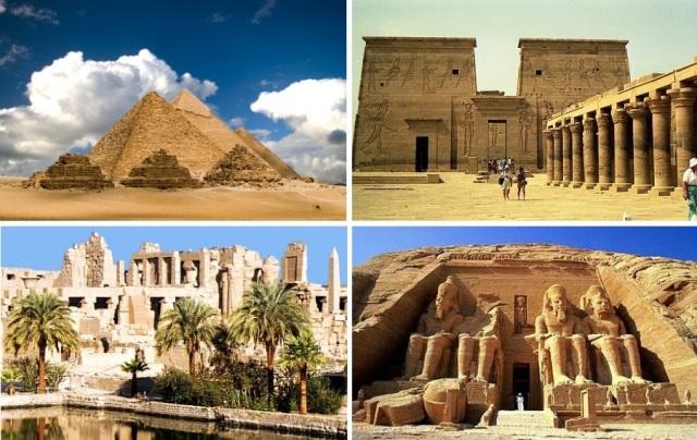 Giza, Luxor, Karnak e Abu Simbel