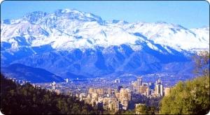 Santiago, cidade onde fica a casa La Chascona