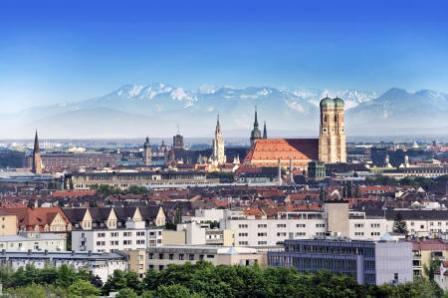 Munique, no sul da Alemanha