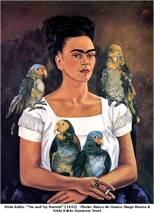 """""""Eu e meus papagaios"""" 1941"""