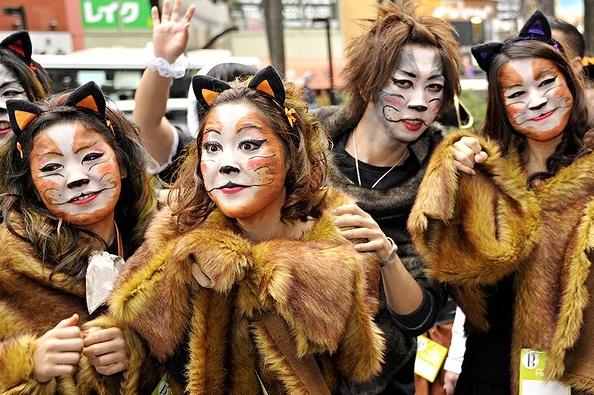 Nas ruas de Tóquio