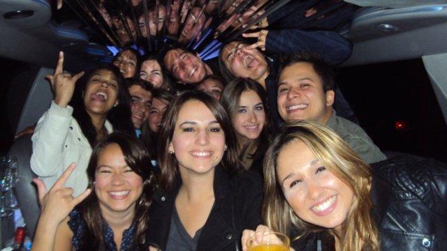 Nossa aluna Nathalia e amigos