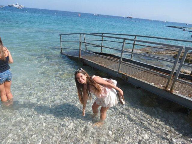 Nossa aluna Mariana Villela na Ilha de Capri. Lindo!